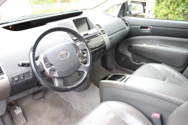 Vår Prius, förar- och passagerarsäte